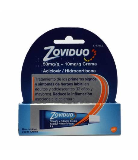 ZOVICREM Labial 50 mg/g Crema 2gr