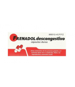 FRENADOL DESCONGESTIVO 16caps