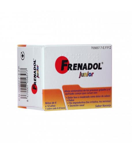 FRENADOL JUNIOR granulado para solución oral 10sob Sobres