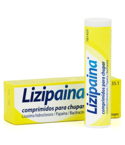 LIZIPAINA 20comp para chupar