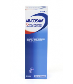 MUCOSAN 6mg/ml Jarabe Solución Oral 250ml