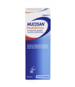 MUCOSAN PEDIÁTRICO 3mg/ml Jarabe Solución Oral 200ml