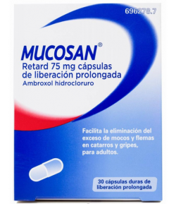 MUCOSAN RETARD 75mg 30 cápsulas de liberación prolongada