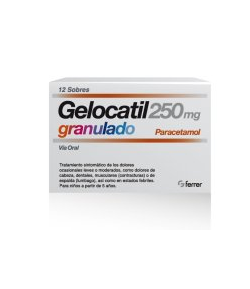 GELOCATIL 250 mg granulado 12sob
