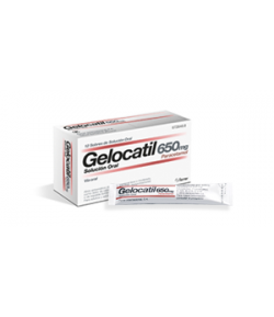 GELOCATIL 650 mg solución oral 12sob Sobres