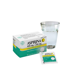 ASPIRINA C 400 mg/ 240 mg 10comp eferv