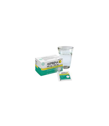 ASPIRINA C 400 mg/ 240 mg 10comp eferv Antiinflamatorios