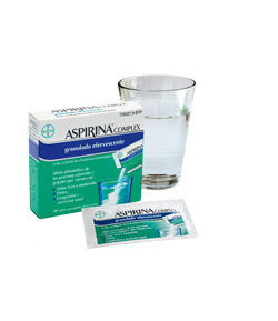 ASPIRINA COMPLEX granulado efervescente 10sob