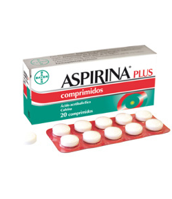 ASPIRINA PLUS 500 mg/ 50 mg 20comp