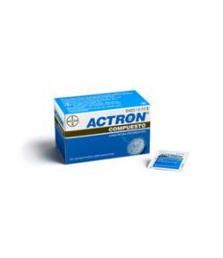 ACTRON COMPUESTO 267 mg / 133 mg / 40 mg 20comp eferv Dolor