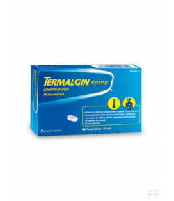 TERMALGIN 650 mg 20comp