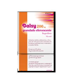 DALSY 200 mg granulado efervescente 20sob