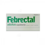 FEBRECTAL ADULTOS 600 mg 6 supositorios Dolor