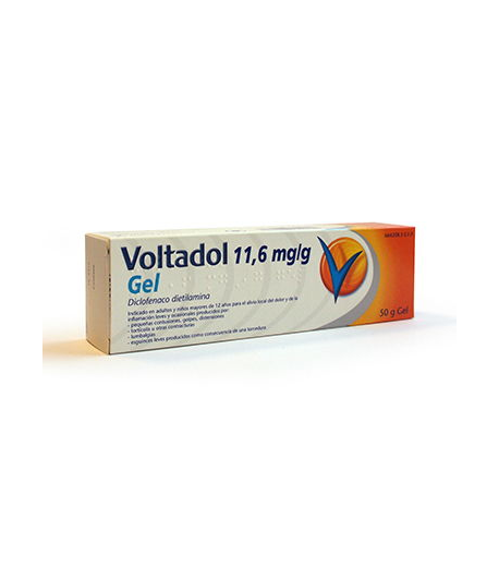 VOLTADOL 11,6 mg/g gel 60gr Antiinflamatorios