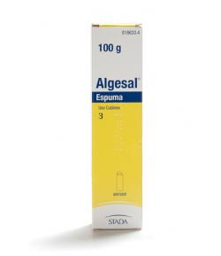 ALGESAL espuma 100gr