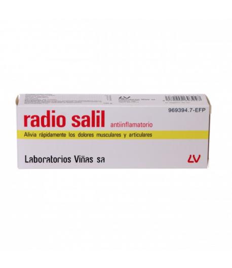 RADIO SALIL antiinflamatorio crema 60gr Antiinflamatorios