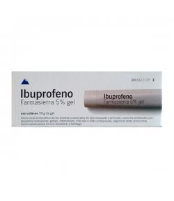 IBUPROFENO FARMASIERRA 50 mg/g gel 50gr