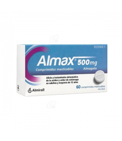 ALMAX 500 mg 48comp mast