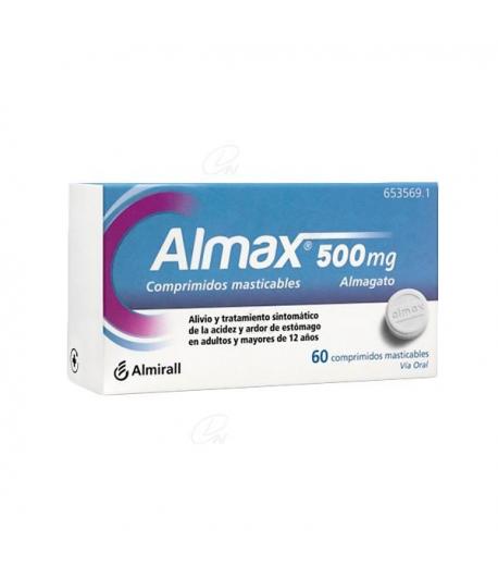 ALMAX 500 mg 48comp mast Ardor de Estómago