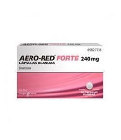 AERO RED Forte 240mg 20 cápsulas blandas