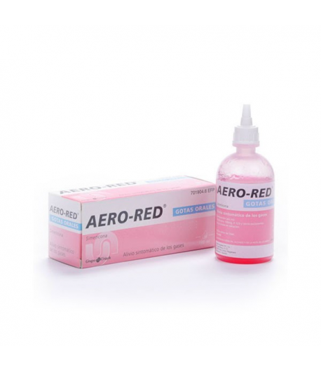 AERO RED Gotas Orales 100ml Gases