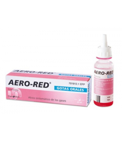AERO RED Gotas Orales 25ml Gases