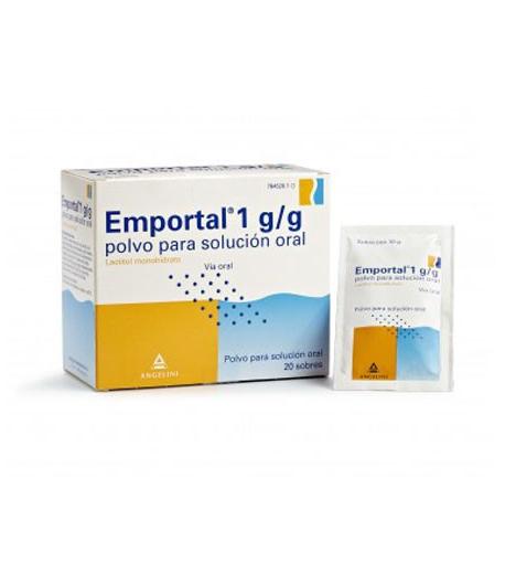EMPORTAL 10 g polvo para solución oral 50sob Estreñimiento