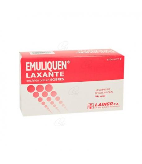 EMULIQUEN LAXANTE emulsión oral en sobre 15ml 10sob Estreñimiento