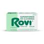 Supositorios de Glicerina ROVI ADULTOS 12ud Estreñimiento