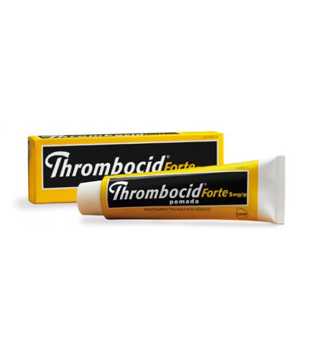 THROMBOCID FORTE 5 MG/G Pomada 60gr Varices