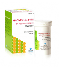 Magnesium Pyre 64mg 50 Comprimidos