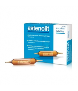 Astenolit 12 ampollas bebibles de 10ml Otras vitaminas