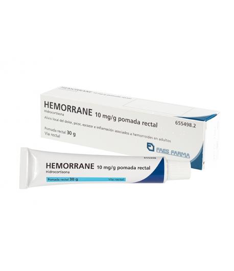 HEMORRANE 10 mg/g pomada rectal 30gr Hemorroides