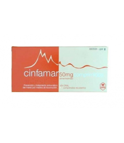 CINFAMAR 50 mg 10comp