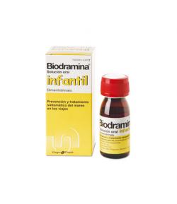 Biodramina Infantil 4 mg/ml solución oral 60ml