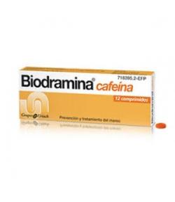 Biodramina Cafeína 12comp