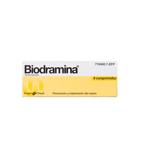 Biodramina 4comp Cápsulas/ Comprimidos