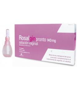 ROSALGIN PRONTO 140mg solución vaginal 5x140ml Vaginal