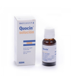 QUOCIN 120 mg/ 60 mg/ ml Colodión 20ml Callicidas/ Antiverrugas