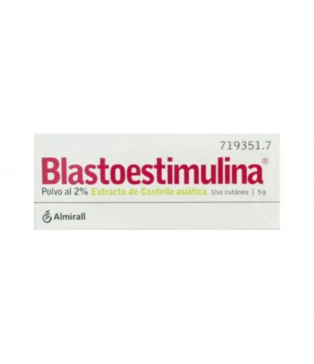 BLASTOESTIMULINA 2% Polvo Cutáneo 5gr Infecciones/ Heridas