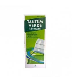 TANTUM VERDE 1,5 mg/ml solución para enjuague bucal y gargarismos Dolor de garganta