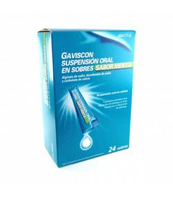 GAVISCON suspensión oral 24sob