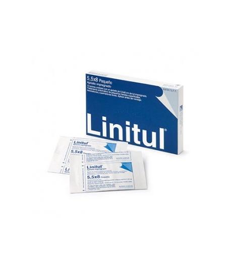LINITUL Apósito impregnado 5,5 x 8 cm 10ud monodosis Infecciones/ Heridas
