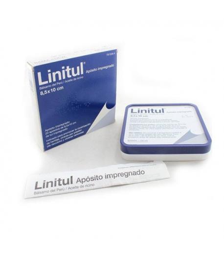 LINITUL Apósito impregnado 8,5 x 10 cm 20ud Infecciones/ Heridas