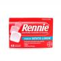 RENNIE 48comp mast con sacarosa sabor Menta Limón Ardor de Estómago
