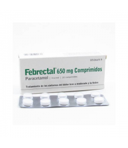 FEBRECTAL 650 mg 20comp