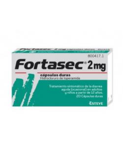 FORTASEC 2 mg 10 cápsulas duras