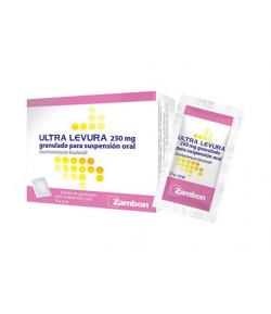 Ultra Levura 250 mg granulado para suspensión oral 20sob