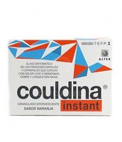 COULDINA INSTANT con Ácido Acetilsalicílico granulado efervescente 20sob
