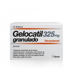 GELOCATIL 325 mg granulado 12sob Sobres